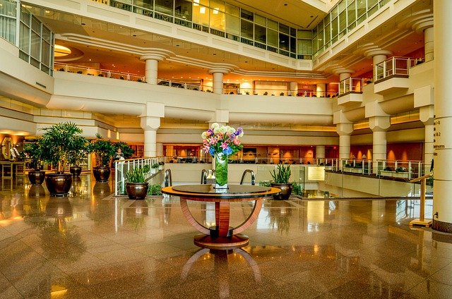 Vancouver, Canada, Pan Pacific Hotel, Lobby