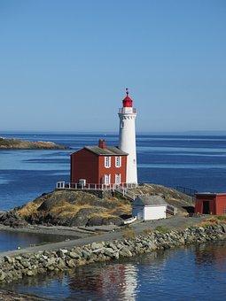 Lighthouse, Vancouver, Canada, Fisgard