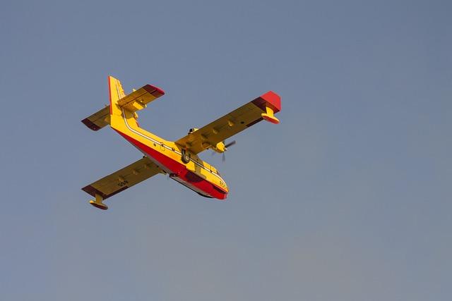 Fire, Canadair, Firemen, Firefighters, Fireplane, Plane