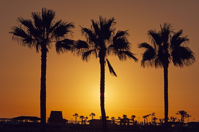 Gran Canaria, Canary Islands, Amadores, Sunset