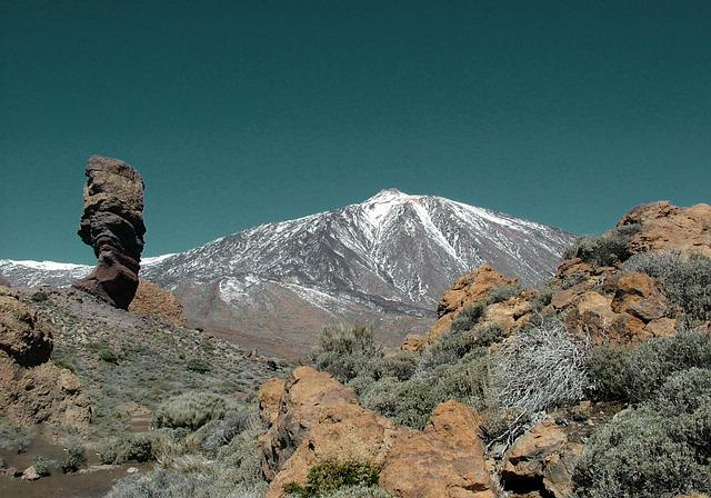 Tenerife, Teide, Landscape, Nature, Canary Islands, Sky