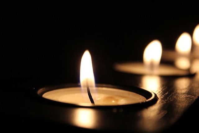 Candle, Candlelight, Celebration, Close-up, Dark, Flame