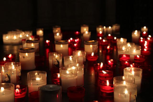 Candles, Dark, Candle, Flame, Fire, Wax, Light, Prayer