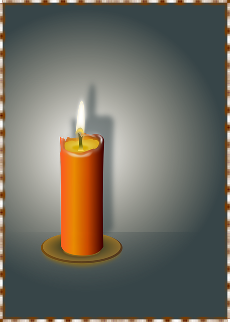 Candle, Flame, Wax, Fire, Light, Romance, Shine, Glow