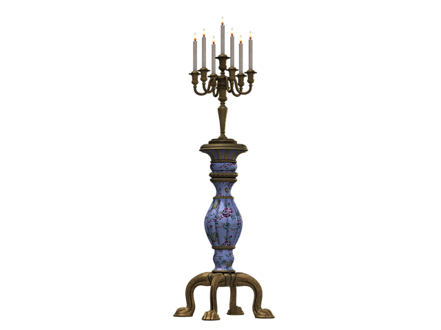 Candle Holders, Old Candlestick, Candles