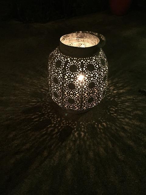 Lantern, Candle, Light