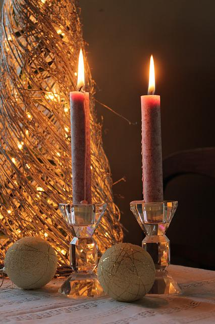 Candle, November, Evening, Relaxation, Date, Holidays