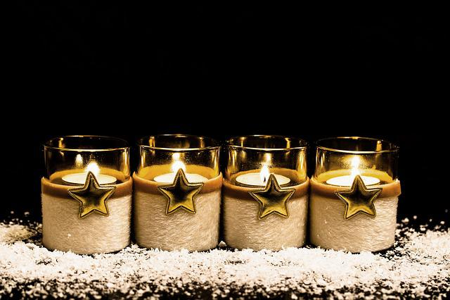 Fourth Advent, 4, Advent, Candlelight, First Candle