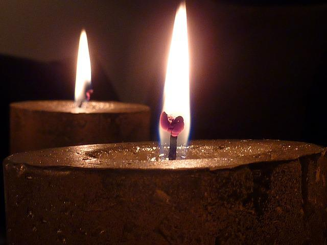 Candle, Candlelight, Light, Wick, Wax, Flame, Bill