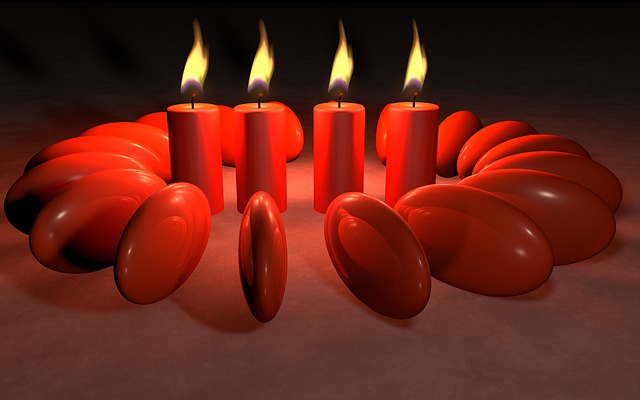 Candles, Light, Flame, Background, Candlelight, Mood