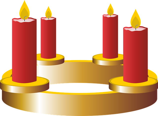Fourth Advent, Advent, Advent Wreath, Candles