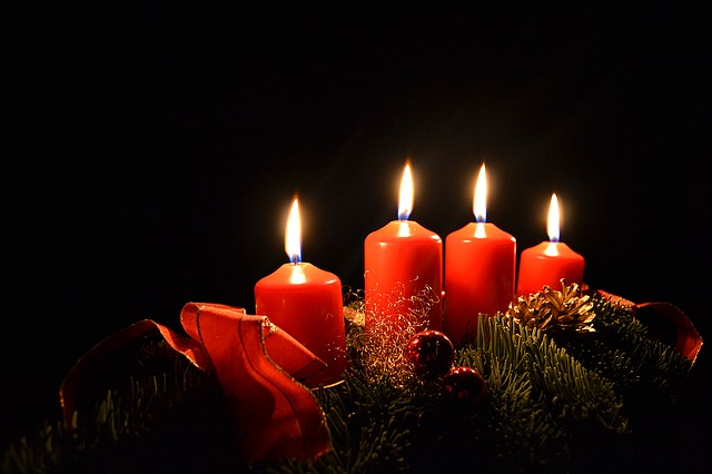 Candles, Christmas, Advent, Advent Wreath