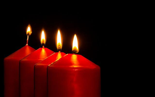 Advent, Advent Candles, Christmas Jewelry, Candles