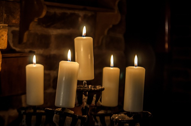 Candlestick, Candles, Wax Candles, Candle, Decoration