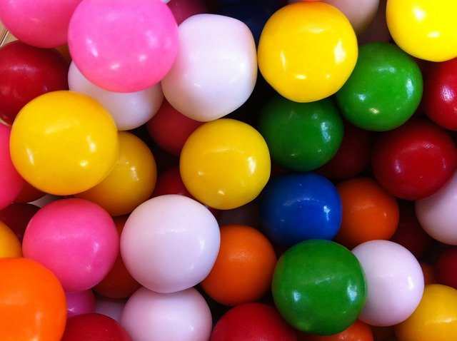 Candy, Gum, Background, Candy Bar, Colors, Shape