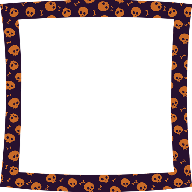 Halloween Frame, Halloween, Monster, Candy Corn, Scary
