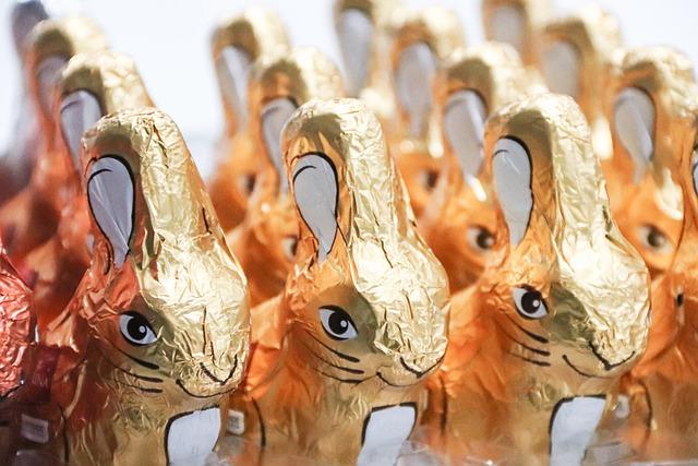 Easter Bunny, Chocolate Bunnies, Candy, Chocolate