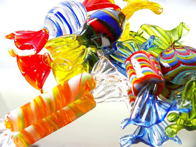 Blue, Candy, Colorful, Drops, Color, Hue, Yellow, Glass