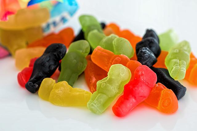 Jelly Babies, Gum Babies, Sweets, Candy, Flavored