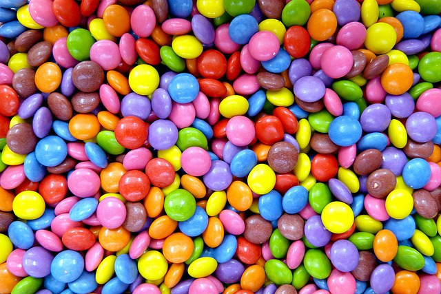 Candy, Confectionery, Sweet, Smarties, Colorful, Snack