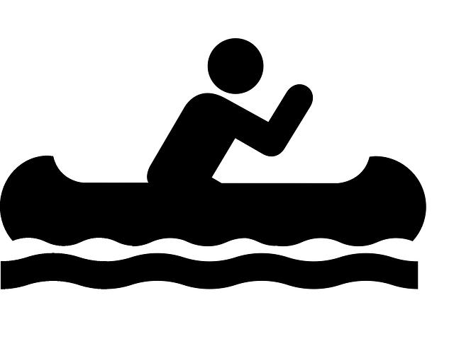 Canoe, Sign, Symbol, Icon, Boat, Water, Activity