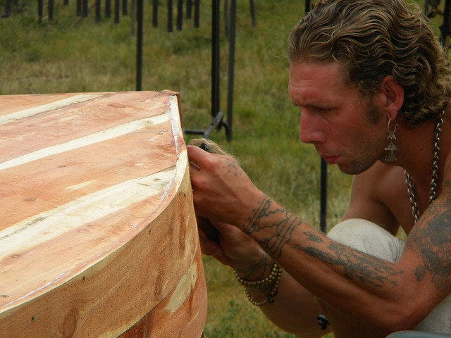 Craftsman, Pirogue, Canoe, Woodwork, Cedar, Wolf Harvey
