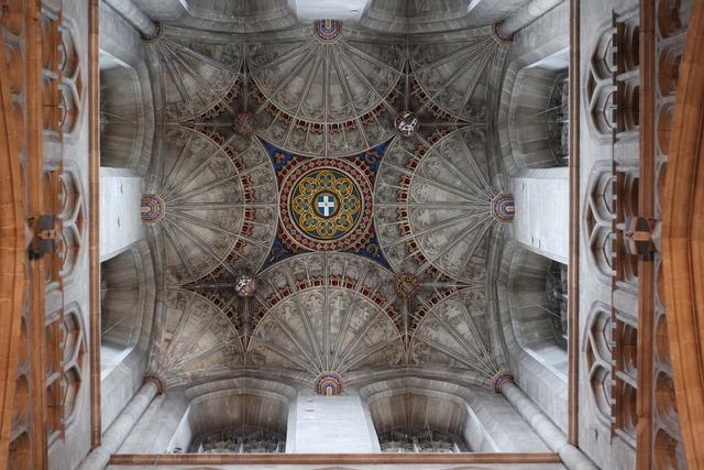 Cathedral, Canterbury, England, Uk, Kent, Religion, Old