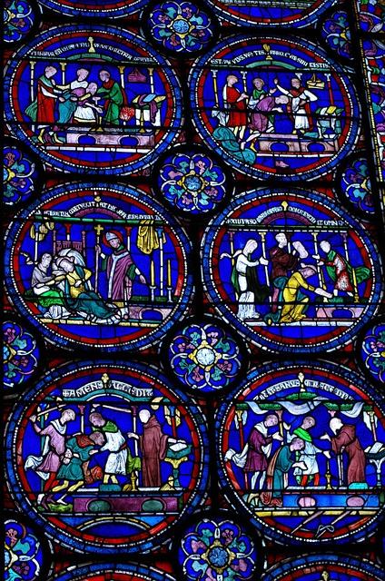 Church Window, Canterbury, Stained Glass Window