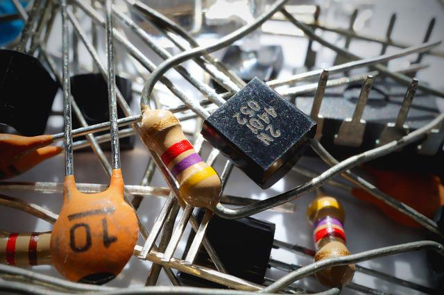 Capacitor, Components, Electrical Components