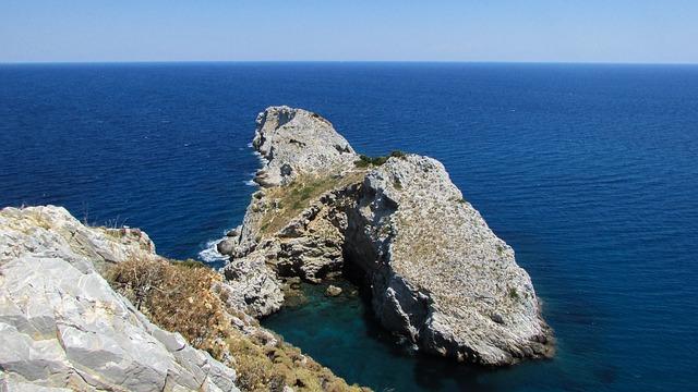 Cape, Rocky Coast, Cliffs, Sea, Horizon, Coast, Island