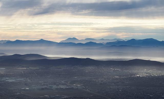 Cape Mountains, Landscape, Sunset, Sky, Fog, Nature