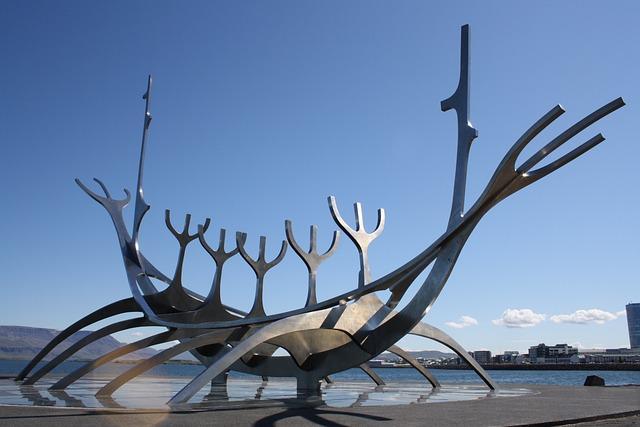 Reykjavik, Iceland, Sculpture, Capital, Solfar
