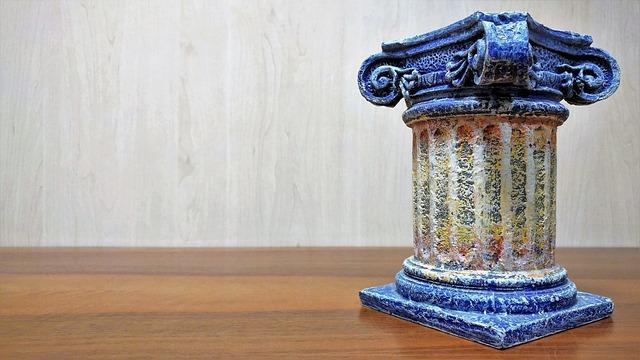 Column, Ornament, Base, Plinth, Capitello, Doric