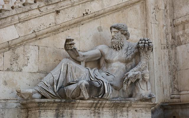 Rome, Statue, Capitol Square, Capitol Hill, Italy