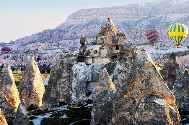 Hot-air Ballooning, Cappadocia, Turkey, Aircraft, Ball