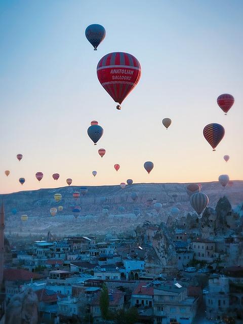 Early In The Morning, Cappadocia, Hot Air Balloon