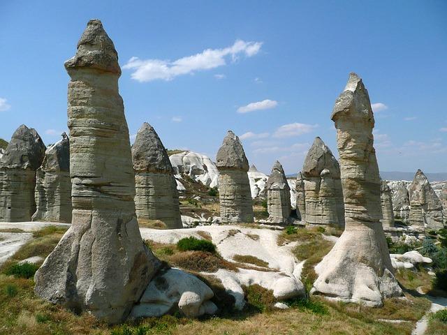 Cappadocia, Fireplaces, Do, Goreme, Turkey