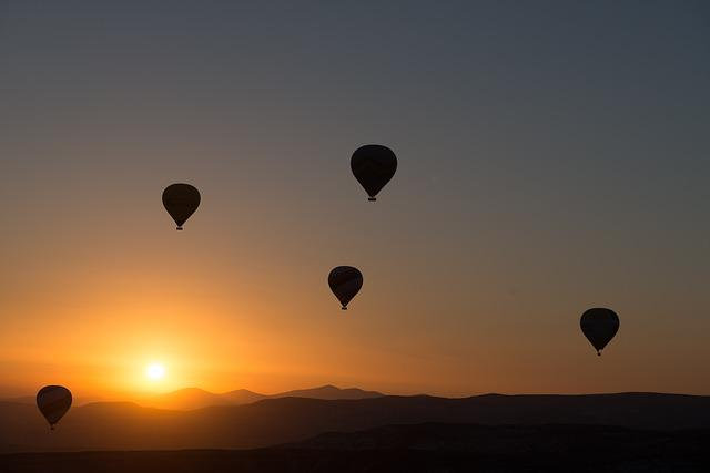 Hot-air Ballooning, Balloon, Cappadocia, Dawn