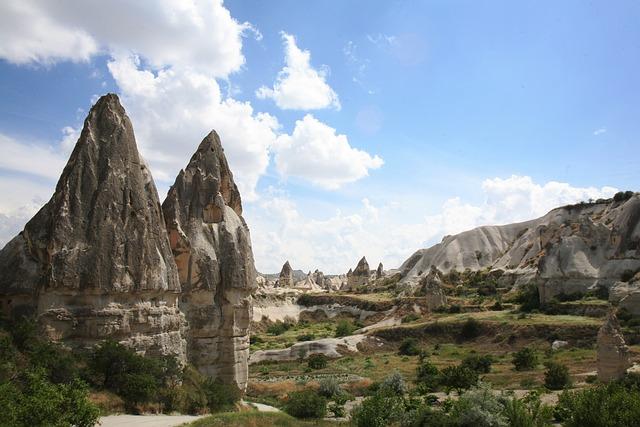 Cappadocia, Turkey, Landscape, Travel