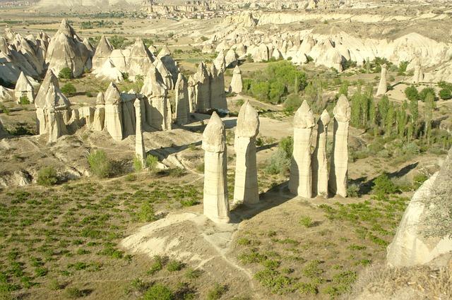 Turkey, Cappadocia, Landscape