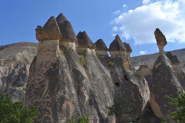 Turkey, Cappadocia, Rocks