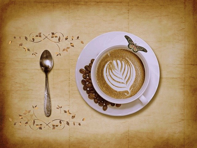 Coffee, Cappuccino, Coffee Cup, Cafe, Cup, Spoon