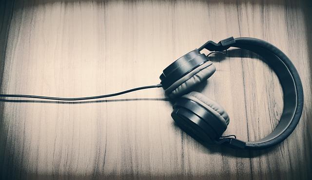 Music, Headphone, Caption, Sound, Listing Music
