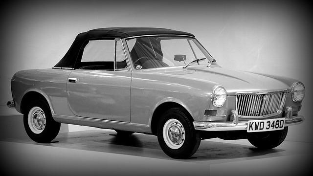 Black And White, Car, Mg, Auto, Automobile, Vehicle