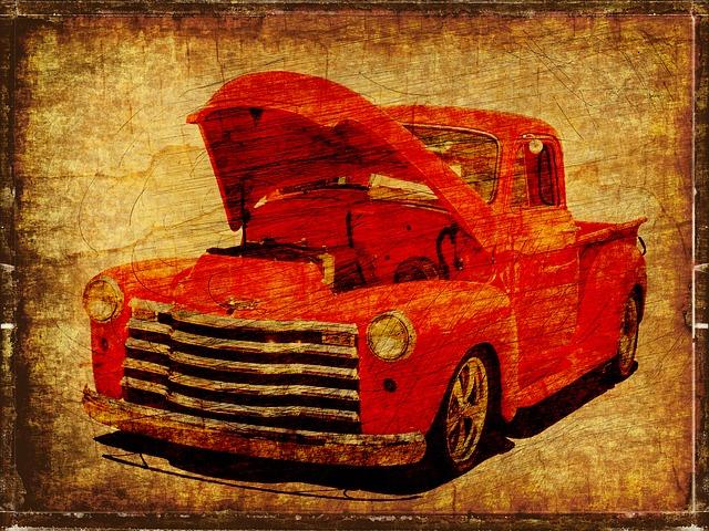 Vintage, Car, Auto, Automobile, Retro, Transportation