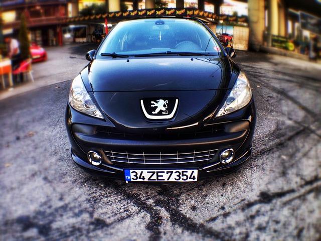 Peugeot, Car, Black, 207, Gt