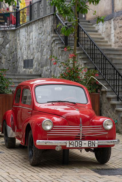 Car, Old, Retro, Vintage, Classic, Automotive, Italy