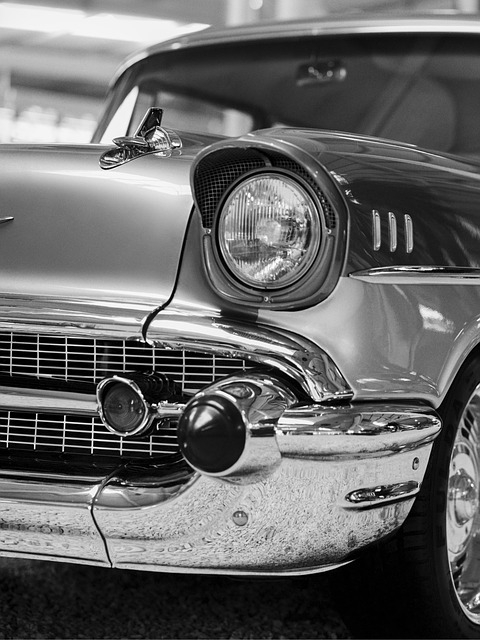Sheavy, Bel Air, Old, Car, Retro, Vintage, Classic