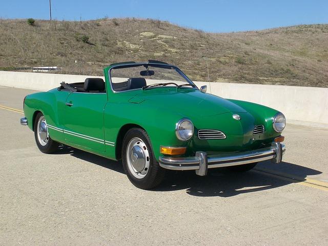 Vintage, Vw, Volkswagen, Car, Automobile, Convertible
