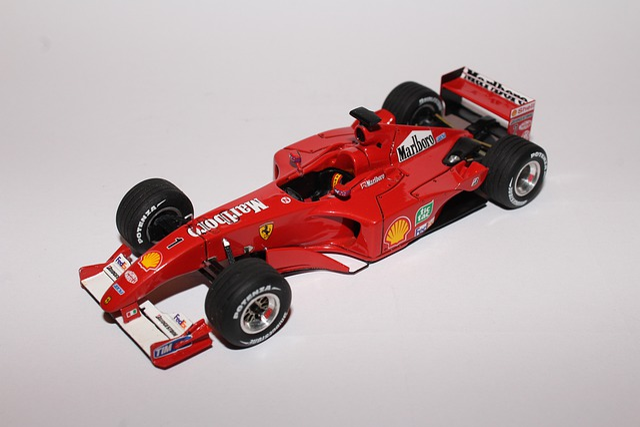 Ferrari, Car, Models, Small Scale Models, F 2001